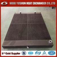 Plate Fin Heat Air Cooler Aluminum Compressor Air Cooler