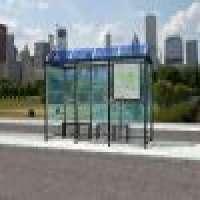 Bus Shelter Glass
