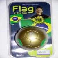 2006 FIFA World Cup Memorabila Collectibles Flag In The Ball Brazil
