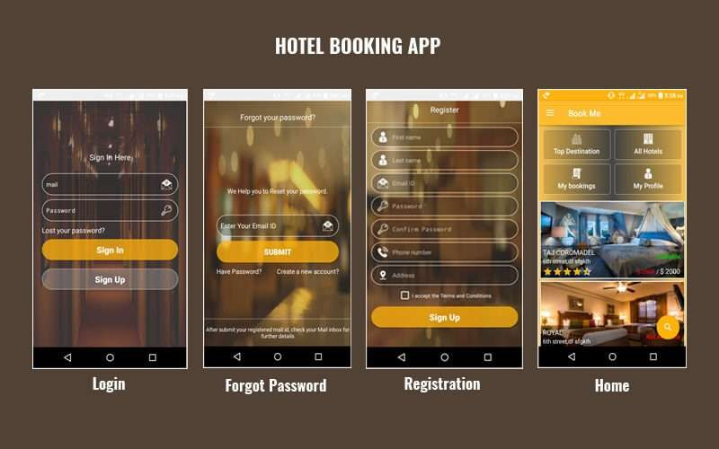 Hotel Booking Android app source code - PHPScriptsMall