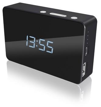 Powerbank with Alarm Clock & Calendar
