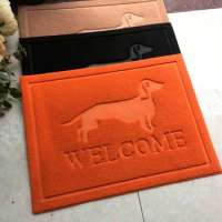 Dog Decor Paw Clean Scatter Rugs