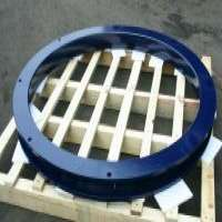 Steel Welding Ball Race Bearing Slewing Ring Swivel Turntable Plate Trailer And Truck Parts