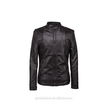 JOYOO Ramisu pu leather coat man