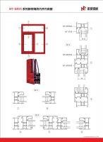 Aluminium window profiles aluminium door profiles