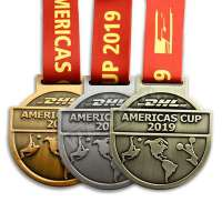 High Quality Medals Manufacturer Gold Medal Beautiful 3D Medals