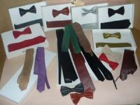 Leather Neck Ties &amp Bows