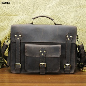 retro leather briefcase men briefcase briefcase leather