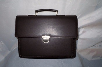 Business bag classical design men s PU briefcase