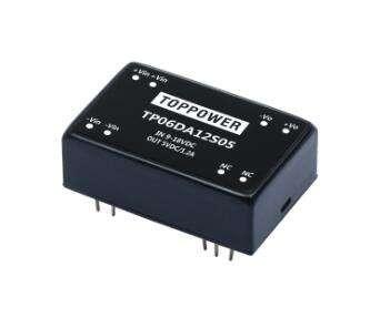 6W 1.5KVDC、3KVDC Isolated Wide Input Voltage DC/DC Converters