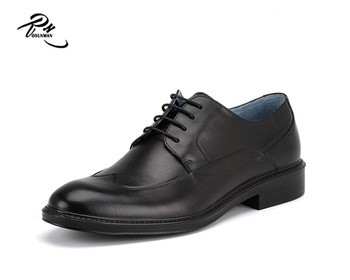 Business shoes men leather small MOQ acceptable gents shoes