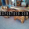 Teak wood furniture sets hand carving