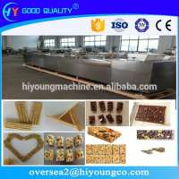 Cereal Bar Production Line Cereal Snack Candy Bar Making Machine