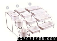 *3 GN SYSTEM STAND & Plates SET