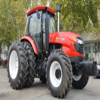 Large Agricultural Farm Wheel Tractor Double Clutch