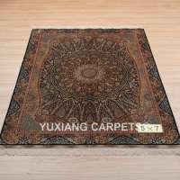 克什米尔丝绸地毯