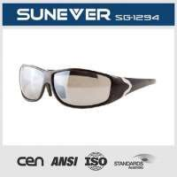 Sport Sunglasses With Metal Temple