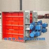 Electric Damper Actuator Air Steam And Flue Gas