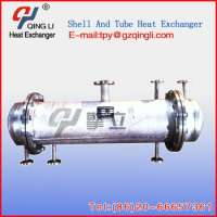 Shell And Tube Type Steam Condenser In Industry