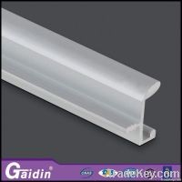 Foshan kitchen cabinet door window aluminum profile handle