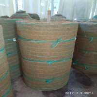 NON WOVEN COIR GEOTEXTILES WITH BOTH SIDE P P NETTING