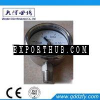 Full stainless steel pressure gauge bayonet ring