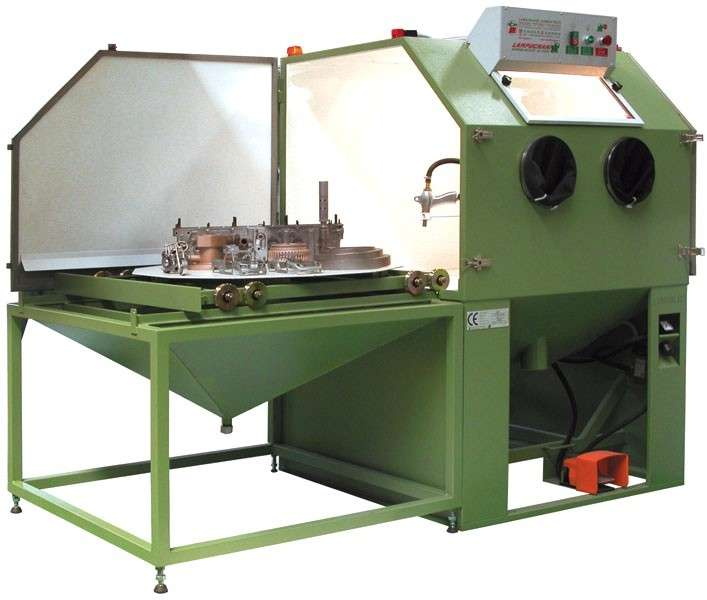 Sand Blasting Machines With Shot Peening