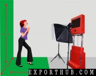 Portbable 3D Photo Booth Events Wedding Rental Service
