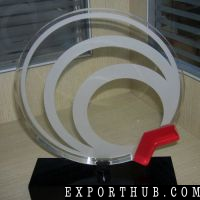 NewClear Round Exquisite Acrylic Trophy&ampAwards