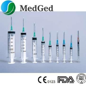 Disposbale Medical Plastic Syringe With Needle