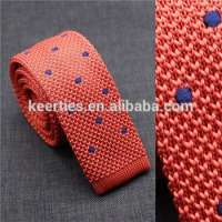 Menswear Pattern Collar Accessories Knit Neckties Knitting Neck Tie