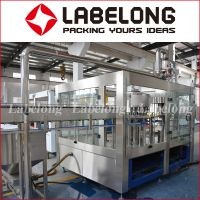 Automatic PET Bottle Carbonated drink washing filling capping Machine