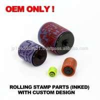 ONLY ! Rolling Stamp Pre Inked Roller Stamp Maker