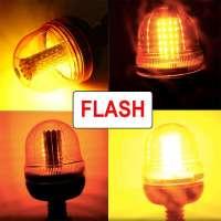 Farm Tractor 60 LED Rotating Flash Warning Beacon Light