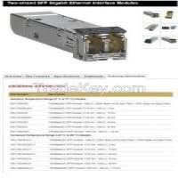 Twostrand SFP Gigabit Ethernet Interface Modules