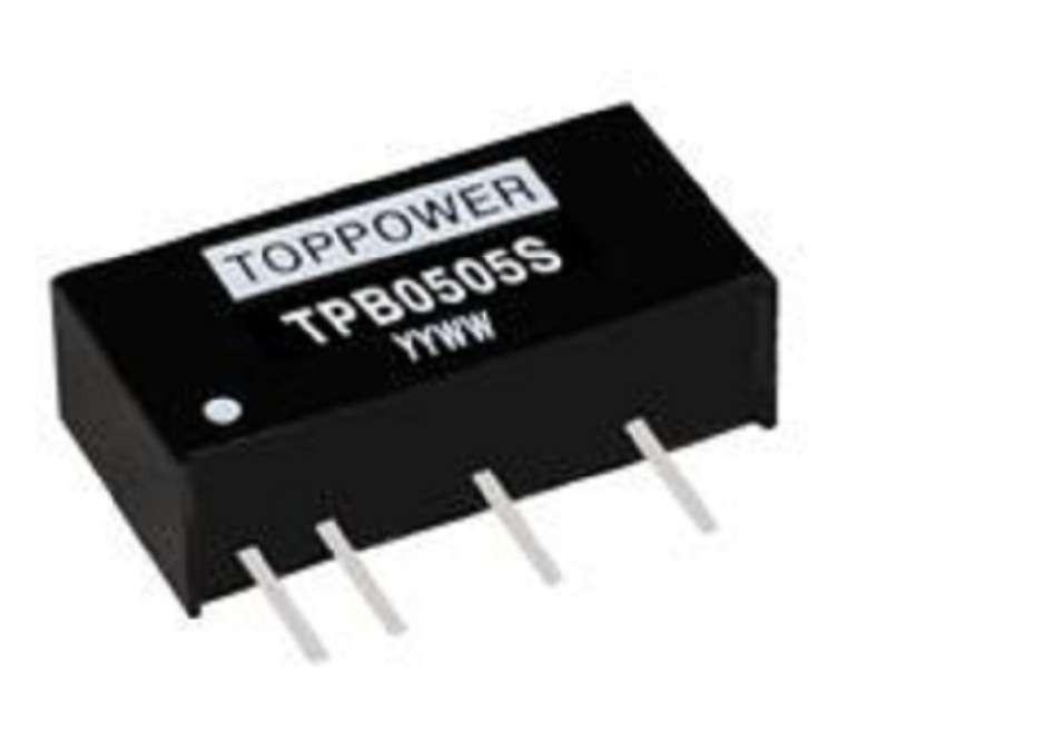 2W 3KVDC Isolation Regulated Single Output DC/DC Converters