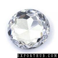 Garnet stones sharp back