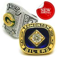 Gold Championship Replica Rings