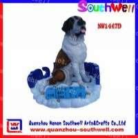 Polyresin Animal Gifts Animal Dog Statues