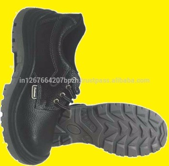 Industrial Safety Shoes Leather Steel Toe Cap Work Boots Midsole Chemical Safety Shoes