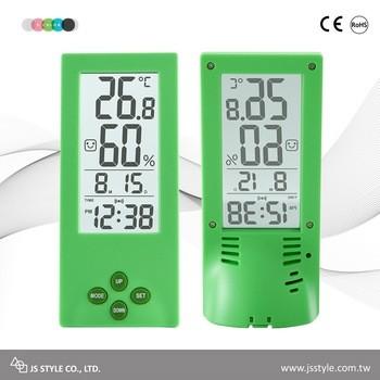 Tabletop Transparent LCD Display Alarm Clock With Calendar