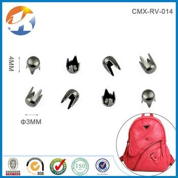Leather Accessories Nickel Metal Rivet Stud