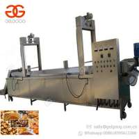 Continuous Computerized Potato Chips French Fries Deep Frying Plantain Chips Fryer