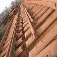 Scrap Railroad Rail