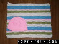 钩针编织毯子