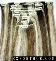 彩色头发扩展