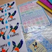 PVC Peelable Gloss Lamination Adhesive Sticker