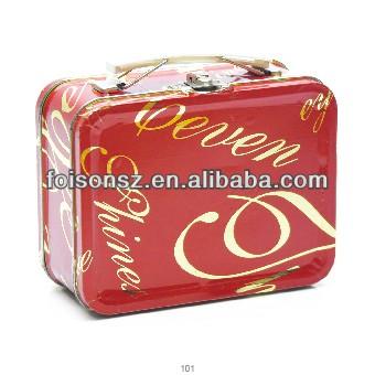 metal business briefcase