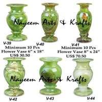 Marble  Onyx  Flower Vases