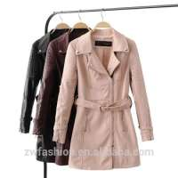 Leather Trench Coats